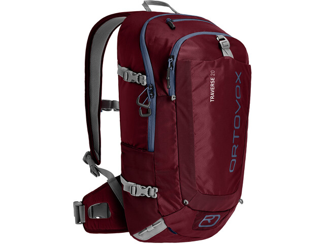 Ortovox Traverse 20 Alpine Backpack Dark Blood